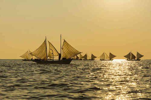 野付湾の打瀬網漁